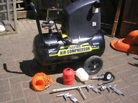 pro user ack50 air compressor in vgc THIS ITEM HAS NOW GONE