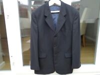 Dark Navy 2 piece Suite - Jacket 42R - Trousers 38R