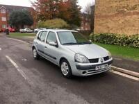 Bargain! Renault Clio 1.5 Diesel - New MOT -2003 - £595
