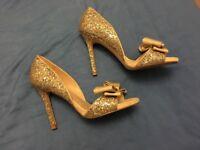 Miss KG Sparkly Heels - Size 4/37 - VGC