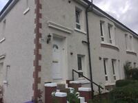 Swap 2 bedroom upper 4 in block carntyne for 2/3 bedroom lower ground