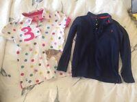 Huge designer summer bundle girls clothes 6 7 8 // dresses skirts // Joules Boden next Zara H&M