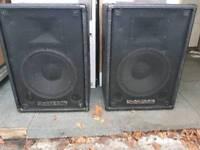 Amp & Speakers