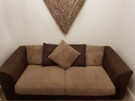 Three seater and two seater sofa for sale.