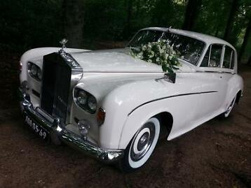Trouwauto klassieke of moderne Rolls-Royce of Bentley huren