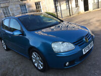 2006 VOLKSWAGEN GOLF GT TDI 140 6 SPEED, 12 MONTHS MOT, F/S/H, CLEAN EXAMPLE, CAMBELT REPLACED