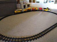Toy electric train set. Quite large, very good condition.