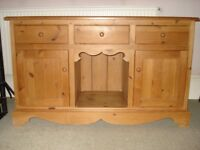 Pine sideboard/dresser base