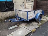 6 X 4 WORKING TRAILER GREAT PRICE £150.00