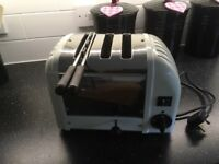 Dualit toaster with sandwich holder