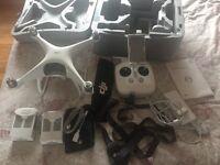 DJI Phantom 4 Drone with 4K Video and 12 mp camera.