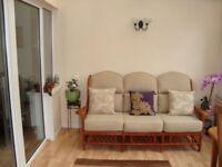 Cane 3 Seater Sofa