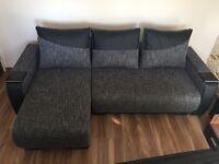 Corner sofa BRAND NEW sleeping bargain !