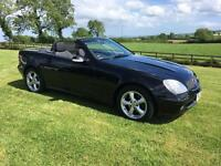 2004 (Jun) MERCEDES SLK 200 KOMPRESSER convertible, hardtop