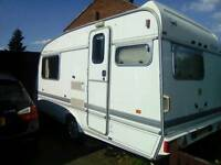 COMPLETE CARAVAN SET UP ELDDIS 200 EX