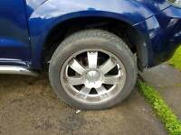 20inch 6 stud Lenso alloys off Toyota Hilux Invincible
