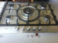 **BOSCH**5 RING**STAINLESS STEEL**GAS HOB**COLLECTION\DELIVERY**MORE AVAILABLE** NO OFFERS**