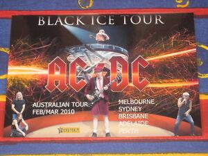 AC/DC - 2010  AUSTRALIAN TOUR  -  PROMO TOUR POSTER