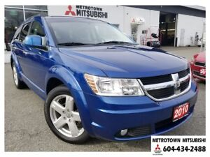 2010 Dodge Journey R/T AWC; Remote start, leather, LOW KMS!