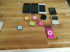 Joblot ipods