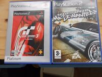 PS2 GAMES NEED FOR SPEED MOST WANTED GRAN TURISMO 3