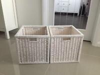 Ikea baskets x 2