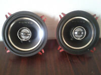 Rockford Fosgate Punch 2-Way Full Range Speakers 80 Watts