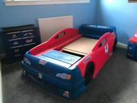 Step2 bed Racing room combo