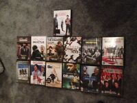 Collection of Action DVD's