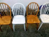 Ercol Windsor Chairs Vintage Retro Mid Century
