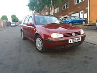 Volkswagen golf 2000 it's 2.0 petrol atuomatic starts and drives milges 121k done