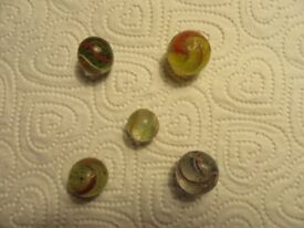 Victorian German marbles.