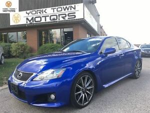2010 Lexus IS F TECH PKG | NAV | CAM | WHITE INTERIOR | 5 LITER