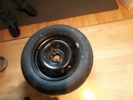 Car tyre steel rim