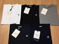 Men's Moncler NF Hugo Boss imported t shirts for sale...