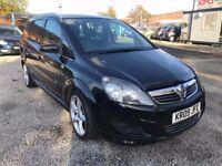 2009 Vauxhall Zafira 1.9 CDTi 16v SRi 5dr PSH+7 SEATS+AUTO+SAT/NAV+2KEYS