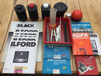 Photgraphic dark room equipment - large collection of well kept and functional kit