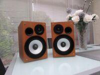 Hitachi Bookshelf 50 watt Speakers