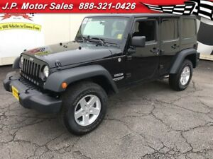 2014 Jeep WRANGLER UNLIMITED Sport, Automatic, 4x4, Only 18, 000