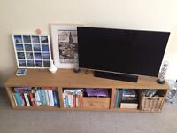 Long Low Shelving Unit / TV Stand