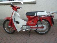 Shed find1981 Honda C90 on Sorn since 1990.