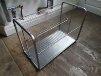 Ikea stainless steel dish draining rack, RRP £13