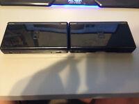 Nintendo DS Lite black x2 + mario party ds