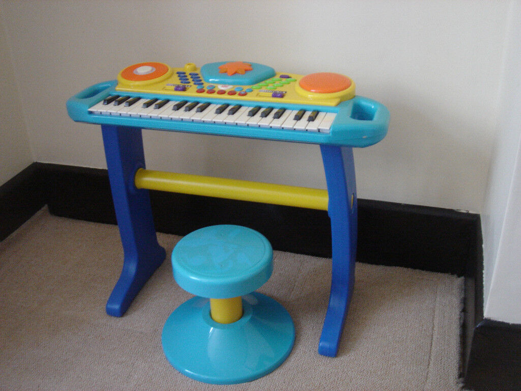 Bruin Light Up Keyboard with Stool - Blue, Kids Educational Learning Music  Toy | in Poole, Dorset | Gumtree