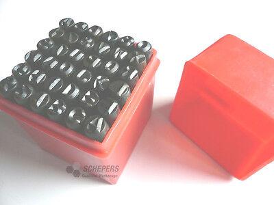 Schlagzahlen 0-9 und Schlagbuchstaben A-Z // 3mm Neu