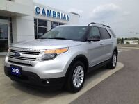 2012 Ford Explorer XLT 4x4 + Heated Leather Seats!