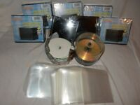 JOB LOT CD Cases/ sleeves + MORE!!
