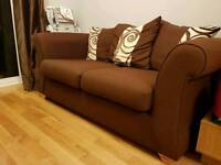 2 and 3 Seater Pillow Back DFS Sofa Set