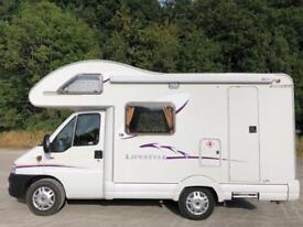 Fiat swift lifestyle 530,4 berth,low mileage!