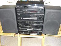 Pioneer hi fi system